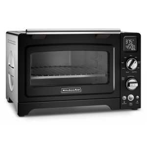 "Kitchenaid12"" Convection Digital Countertop Oven - Onyx Black"