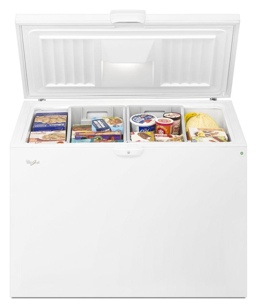 Ft. Chest Freezer With Large Storage Baskets  sc 1 st  Hahn Appliance Warehouse & WZC5415DWWHIRLPOOL 15 cu. ft. Chest Freezer with Large Storage ...