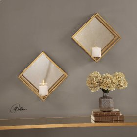 Zulia, Candle Sconce, S/2