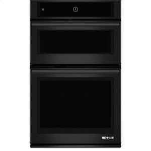 "Jenn-AirBlack Floating Glass 27"" Microwave/Wall Oven with MultiMode(R) Convection System"
