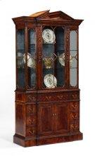 Neo-Classical Mahogany China Cabinet Product Image