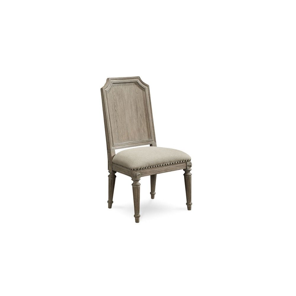 Arch Salvage Mills Side Chair - Parchment