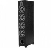 Four-Way Ported Floorstanding Loudspeaker in Black