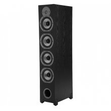 Four-Way Ported Floorstanding Loudspeaker in Black