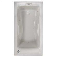Evolution 60x32 inch Deep Soak Air Bath - White