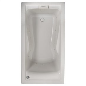 Evolution 60x32 inch Deep Soak Air Bath - White