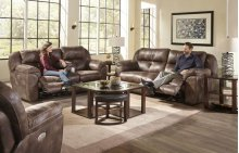 CATNAPPER 61891G Ferrington Dusk Power Reclining Sofa, Power Reclining Console Loveseat & Power Wall Recliner Group