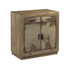 VELLUM TWO DOOR CABINET