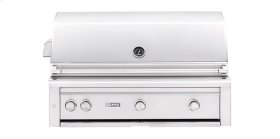 """42"""" Built-in Grill with Trident Burner and Rotisserie (L42PSR-2) - Liquid propane"""