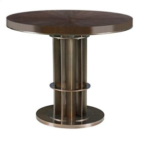Lindsey Adjustable Height Counter Dining Table Complete