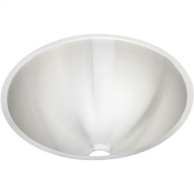 "Elkay Asana Stainless Steel 18-3/8"" x 18-3/8"" x 8"", Single Bowl Undermount Bathroom Sink"