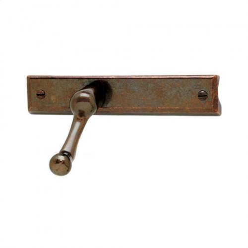 Casement Window Crank & Cover - WC200 Bronze Dark Lustre