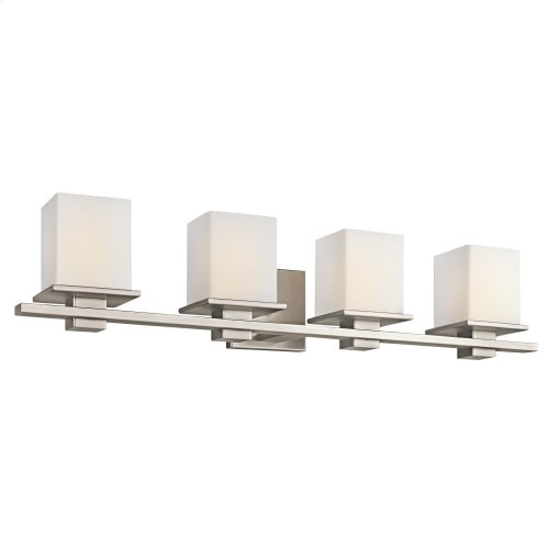 Tully 4 Light Halogen Vanity Light Antique Pewter