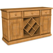 Sturbridge Buffet with Wine Rack, also Full extension glides