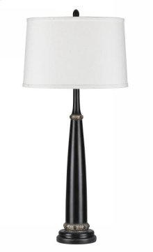 150W 3 way medallion resin table lamp