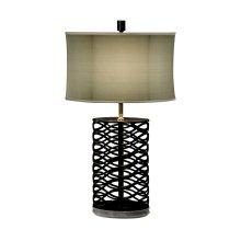Bronze Interlaced Iron Table Lamp