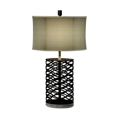 Bronze Interlaced Iron Table Lamp