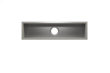 "UrbanEdge® 003619 - undermount stainless steel Bar sink , 30"" × 7"" × 6"""