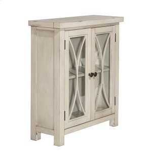 Hillsdale FurnitureBayside 2 Door Cabinet - Antique White