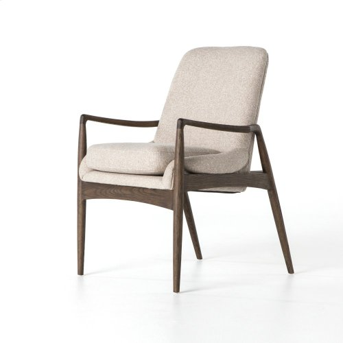 Braden Dining Arm Chair-light Camel