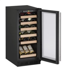 """1000 Series 15"""" Wine Captain® Model With Stainless Frame Finish and Field Reversible Door Swing"""
