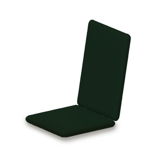 "Forest Green Full Cushion - 40""D x 17.25""W x 2.5""H"