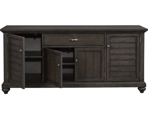 Ashgrove Entertainment Console, Nutmeg