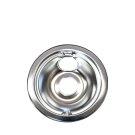 Smart Choice 6'' Chrome Drip Bowl Product Image