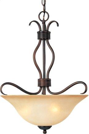 Basix 3-Light Invert Bowl Pendant