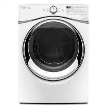 Whirlpool® 7.4 cu. ft. Duet® Steam Dryer with SilentSteel™ Dryer Drum - White