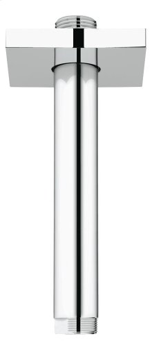 """Rainshower 6"""" Ceiling Shower Arm with Square Flange"""