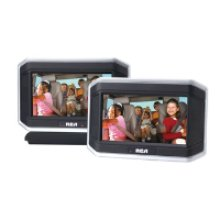 "8"" Dual Screen Travel DVD System"