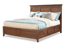 San Mateo King Bed Storage Side Rails