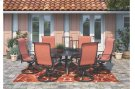 Apple Town - Burnt Orange 2 Piece Patio Set Product Image