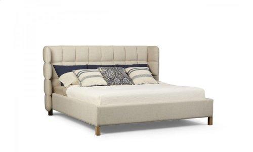 Epicenters Austin North Loop Eastern King Upholstered Shelter Bed