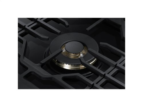 "36"" Gas Cooktop with 22K BTU Dual Power Burner"