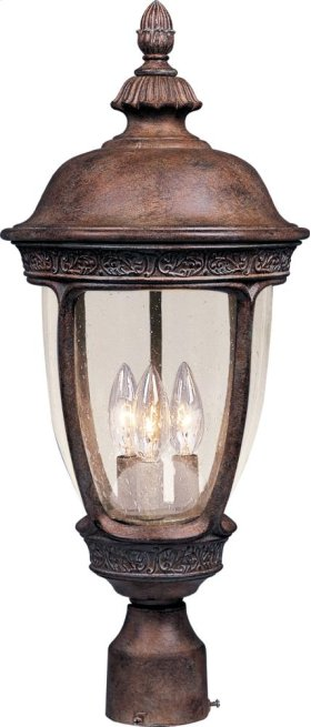 Knob Hill VX 3-Light Outdoor Pole/Post Lantern