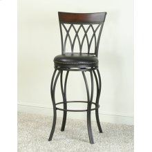 "CR-J3009  30"" Highback Swivel Barstool"