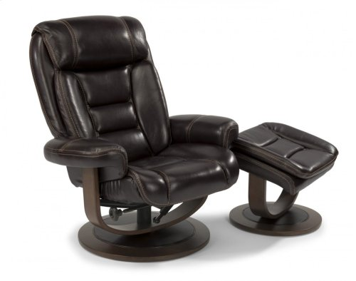 Hunter Leather Chair and Ottoman