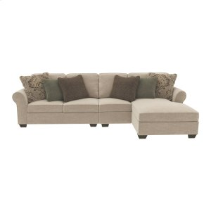 AshleyASHLEY MILLENNIUMWilcot 3-piece Sectional With Chaise