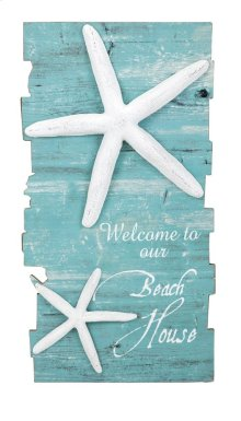 Beach House Starfish Wall Decor