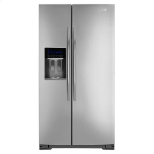 Gold® 30 cu. ft. Side-by-Side Refrigerator with Tap Touch Controls - MONOCHROMATIC STAINLESS LOOK