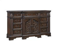 Door Dresser - Coffee Finish Product Image