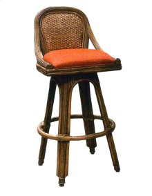 24'' Bar Stool, Available in Antique Palm Finish Only.