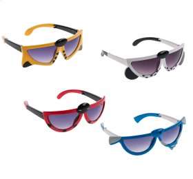 24 pc. ppk. Animal Shaped Kids Sunglasses