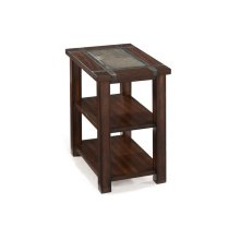 Rectangular Chairside End Table