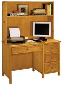 Woodland Pecan Desk/Hutch