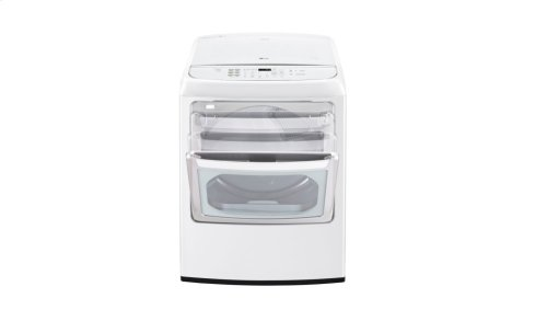 7.3 cu. ft. Ultra Large Capacity Front Control Electric Dryer with EasyLoad Door