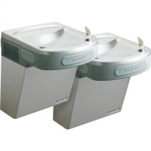 Elkay Versatile Cooler Wall Mount Bi-Level GreenSpec ADA, Non-Filtered 8 GPH Stainless