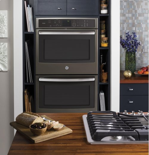 """GE Profile™ Series 30"""" Built-In Double Wall Oven with Convection"""